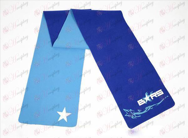 Gebrek Rock Shooter Accessoires-color dubbelzijdig sjaal