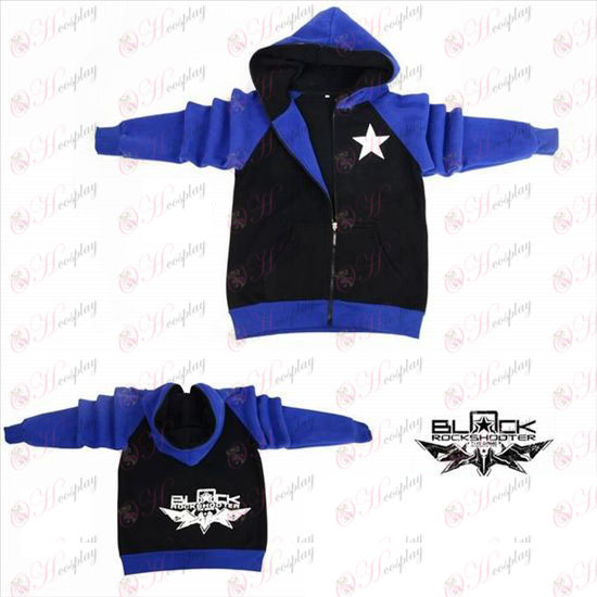 Lack Rock Shooter Accessories shooter flag fork sleeve zipper hoodie sweater
