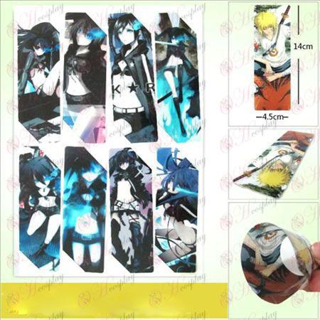 SQ015-Липса Rock Shooter аксесоари аниме големи Bookmarks (5 версия на цена)