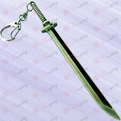 Липса аксесоари Rock Shooter твърде нож висящи ключалката