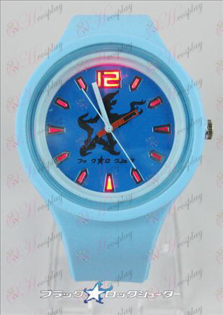 Colorful flashing lights sport watch-Lack Rock Shooter Accessories