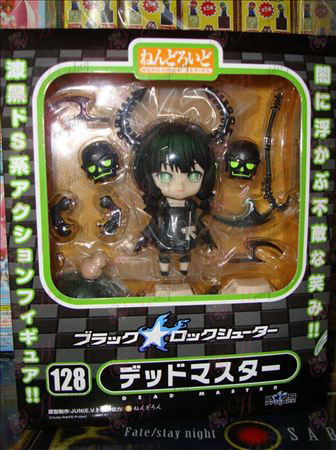 Q version 128 # horned face doll Lack Rock Shooter Accessories