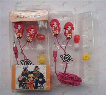 Naruto headphones (Sakura)