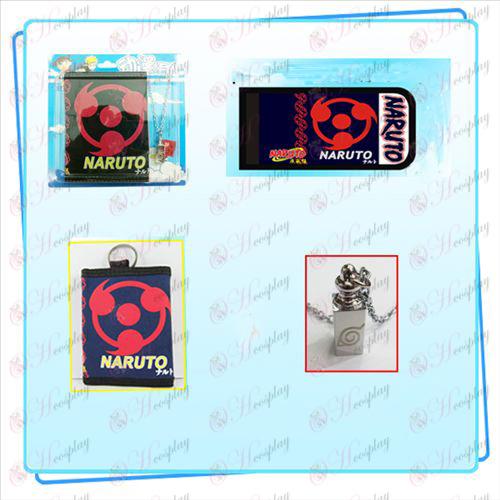 Naruto ogrlica krat denarnica combo (ogrlica naključno porazdelitev
