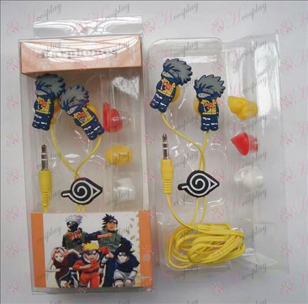 Naruto headphones (kakashi)