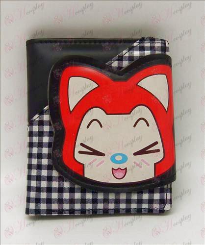 Geruite wallet (Ali Accessoires)