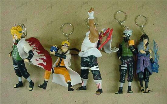 32 Generation 5 models Naruto keychain