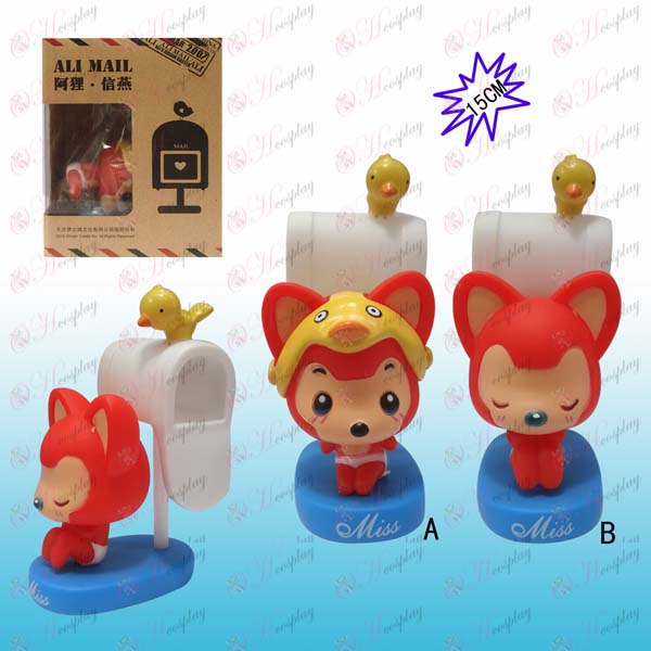 2 Ali Accessories pond plastic boxed doll