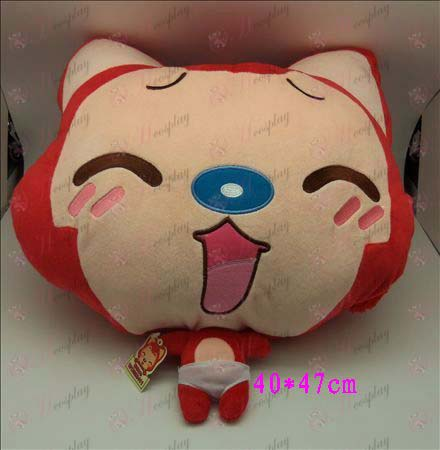 1 # Ali Accessories Plush Shou Wu (red squinting)