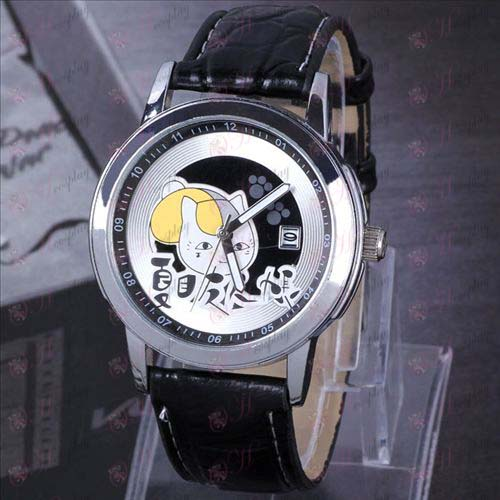 Natsume's Book of Friends Accessories Cat Teacher Suspended calendar watch