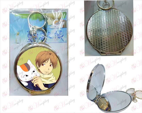 Natsume's Book of Friends Accessories round mirror -3