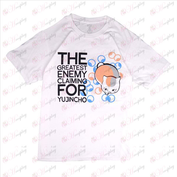 Natsume's Book of Friends AccessoriesT-shirt (white)