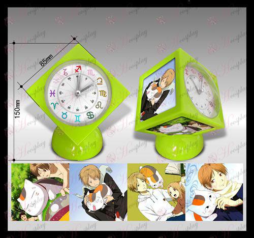 Natsume книга на приятел Accessories часовник куб аларма