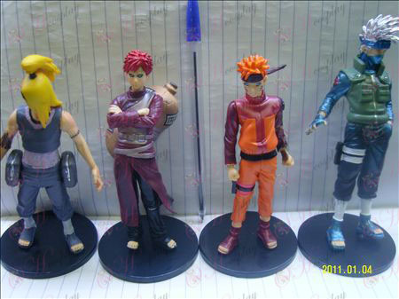 Ultra-colored four base models Naruto Doll