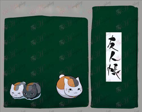 Book QB2200Natsume от приятели Аксесоари сгънете цвят портфейла