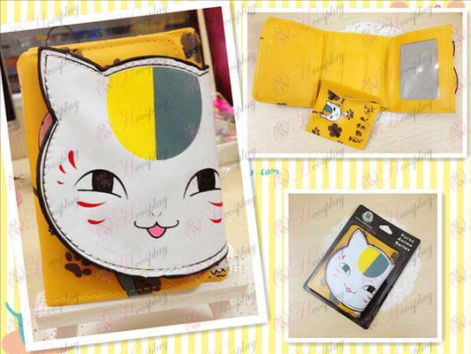 Natsume книга на приятел аксесоари Cat 2 портфейла поколение насипно състояние