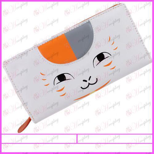 Natsume книга на приятел аксесоари Cat Бог PVC портфейла