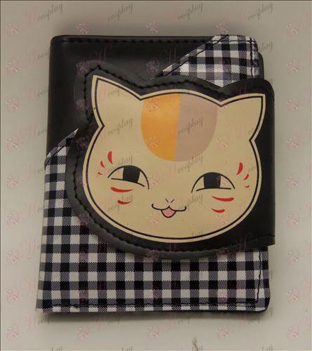Карирани портфейл (Book Natsume от приятели аксесоари)