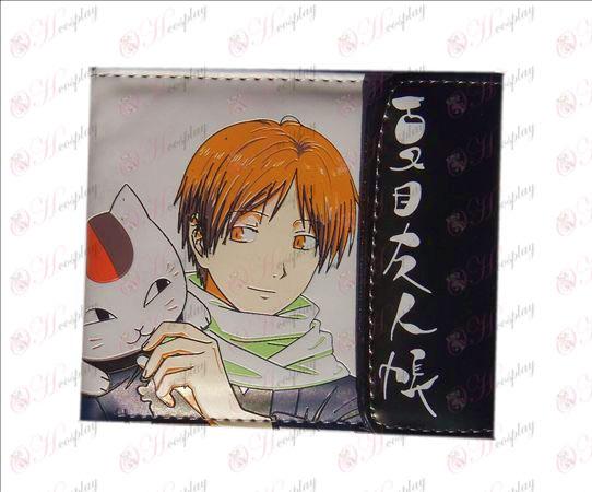 Book Natsume от приятели Аксесоари щракам портфейла