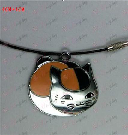 Natsume Bog af Friends Tilbehør-kat halskæde