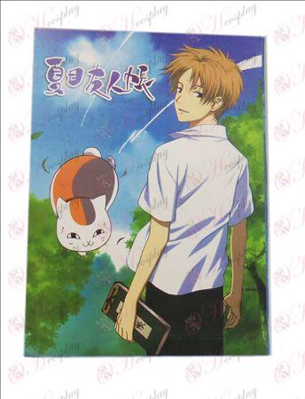 Natsume Book of Friends Kiegészítők Képeslapok B + kártyával