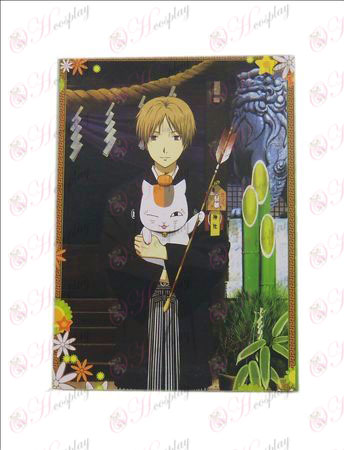 Natsume: s Book of Friends Accessoarer Vykort A + kort