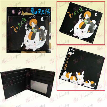 Natsume priateľov účet Mačky učiteľ krátke peňaženka
