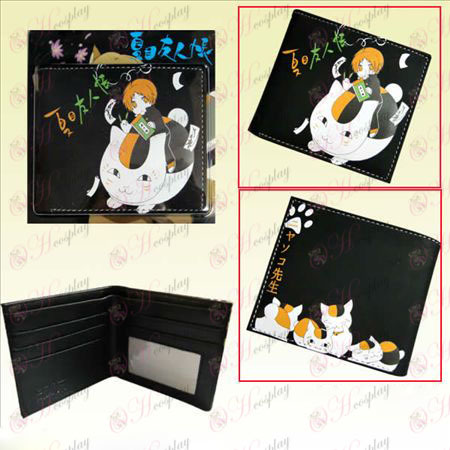 Natsume приятели сметка Cats учител кратко портфейла