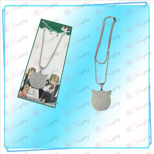 Natsume's Book of Friends Accessories (cat face necklace)