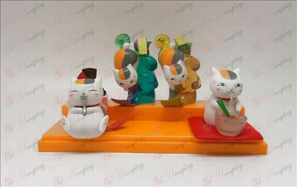 4 models Natsume's Book of Friends Accessories (box)