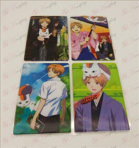 4 PVCNatsume книга на приятел Аксесоари SIM картата