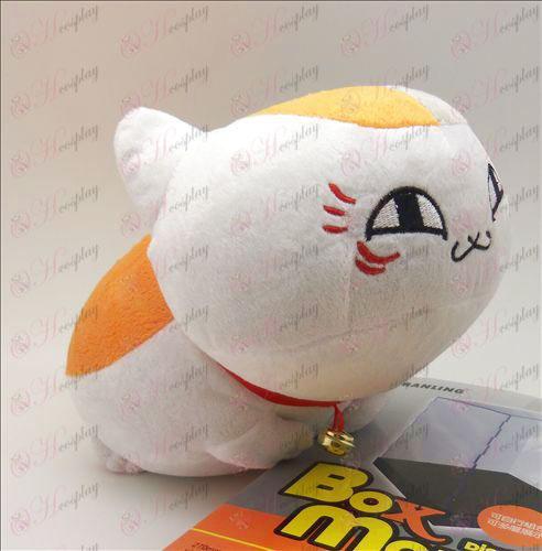 Natsume Buch der Freunde Zubehör Kleine weiße Katze liegend Plüsch Puppe (31cm