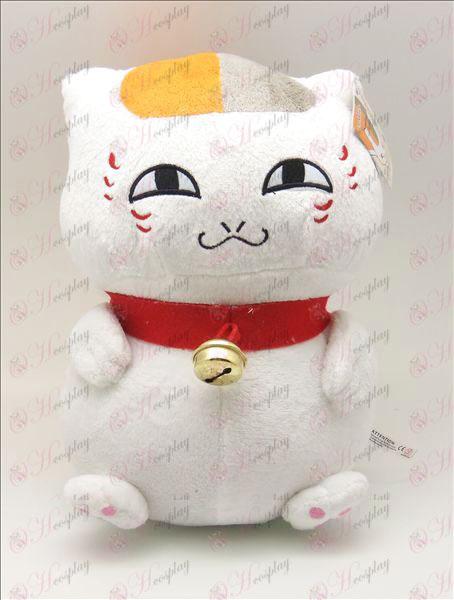 Natsume Buch der Freunde Zubehör männlich sitzende Katze Plüsch (weiß) 46cm