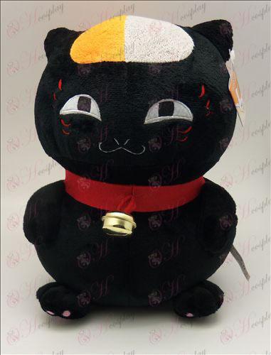Book Natsume от приятели Аксесоари седи котка плюш (черно) 46 см