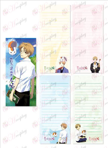 Natsume je Book of Friends oprema Long Scratch Pad 023