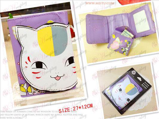 Natsume книга на приятел аксесоари Cat портфейла учител насипно състояние (с отворени очи)