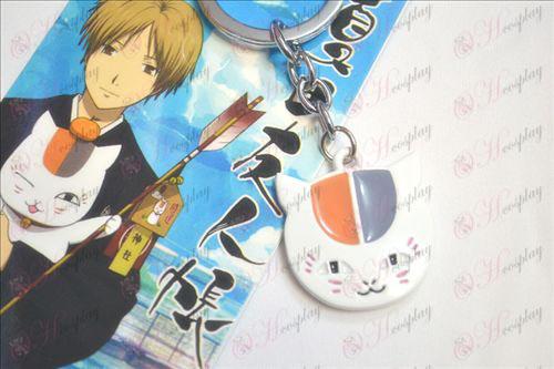 Natsume Book of Friends Kiegészítők kulcstartó fehér bagoly