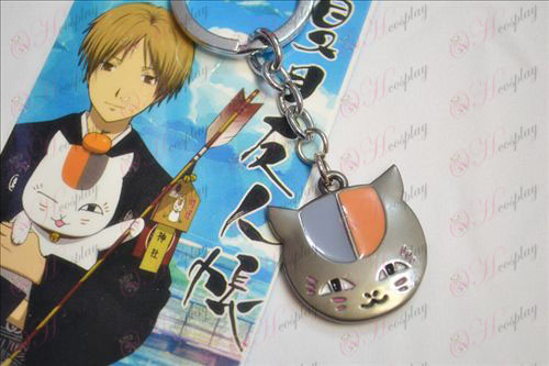 Natsume je Book of Friends Dodatki sova Keychain Črna