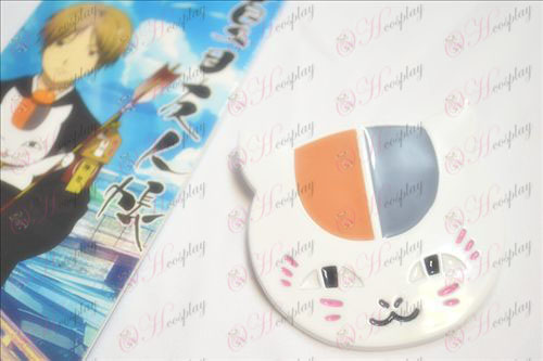 Natsume книга от приятели Аксесоари бухал брошка голяма бяла