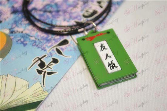 Livro de Amigos Acessórios Colares de Natsume