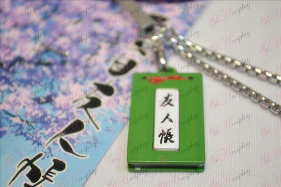 Livro de Amigos Acessórios Máquina Rope de Natsume