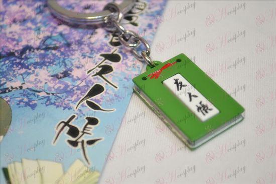Livro de Amigos de Natsume Acessórios Chaveiro