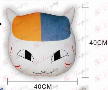 Нацумэ книга друзей Аксессуары для кошек учителя плюшевые подушки (глаза открыты)
