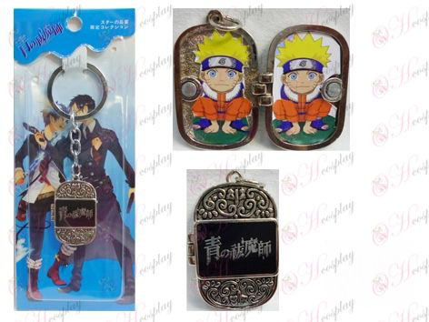 Blu Exorcist Accessori Photo Frame Keychain
