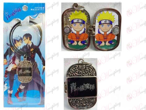 Blue Exorcist Accessories Photo Frame Series Wire Necklace