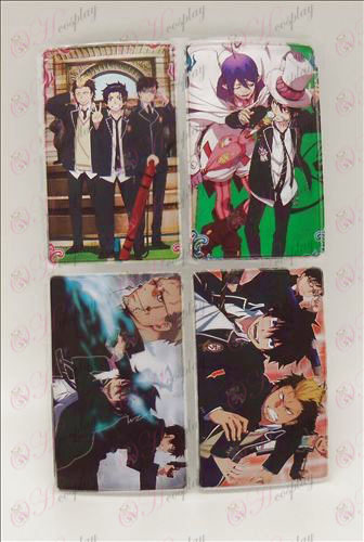 4 PVCBlue Exorcist Tarvikkeet simcard