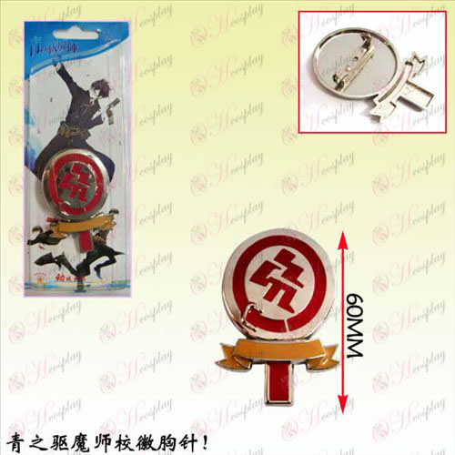 Blue Exorcist Accessories badge brooch