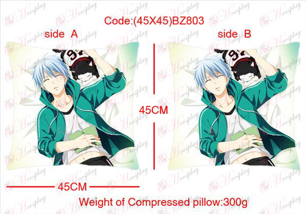 (45X45) BZ803-kuroko's Basketball Accessories Anime sided square pillow