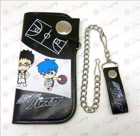 Kuroko's Basketball Accessoires grote portemonnee (zwart)