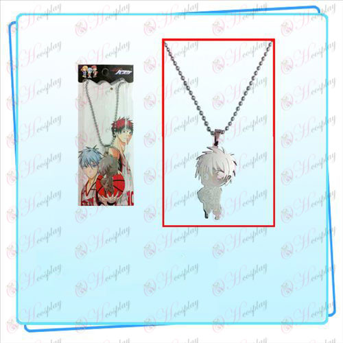 Sunspot basketball figure necklace
